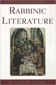 Introduction to Rabbinic Literature Neusner