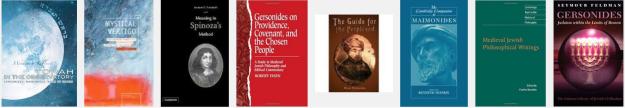 Jewish philosophy books row 2