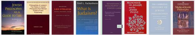 Jewish philosophy books top