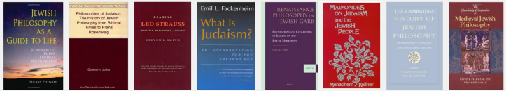 Jewish philosophy books top