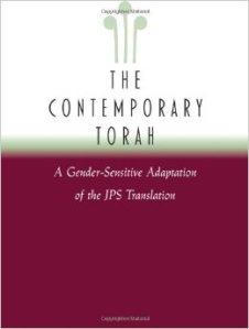JPS The Contemporary Torah Gender Sensitive