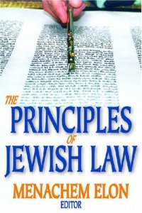 The Principles of Jewish Law Menachem Elon