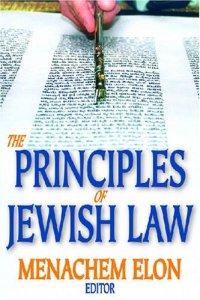 The Principles of Jewish Law Menachem Elon