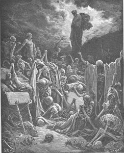 Gustave Dore Ezekiel's Vision of the Valley of Dry Bones