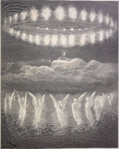 Gustave Dore Heavenly Host Paradiso Canto XXVIII