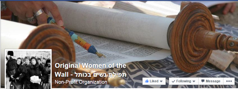 https://www.facebook.com/OriginalWomenoftheWall/timeline