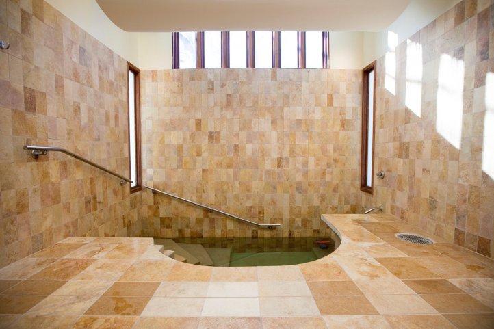 Mayyim Hayyim, a beautiful new mikveh in Newton, MA.