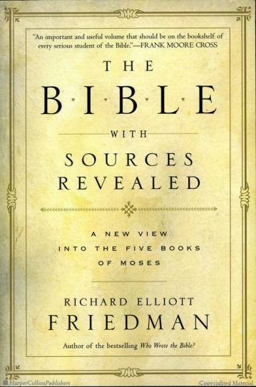 The Bible With Sources Revealed Friedman