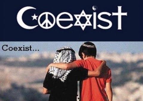 Coexist Muslim Jew
