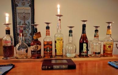 whiskey-bottle-menorah-1