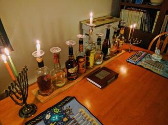 whiskey-bottle-menorah-2
