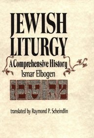 Jewish Liturgy Elbogen