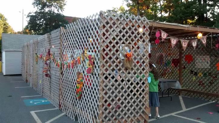 Sukkah in New Hampshire