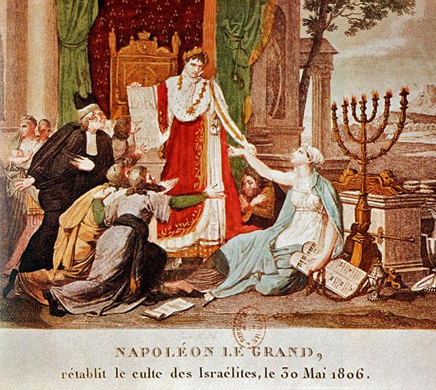 Napoleon grants freedom to Jews Emancipation 1806