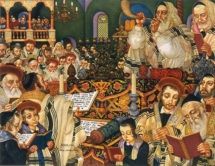 Arthur Szyk The Holiday Series Rosh Hashanah 1948