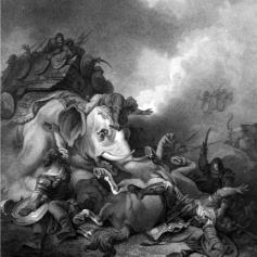 Bowyer Bible Heroism of Eleazar